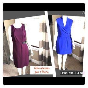 Dresses & Skirts - 👗Jones New York sz10 & Ivanka trump sz:10 both=25